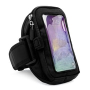 Vangoddy Universal Sport Pouch Cell Phone Workout Armband, Black (SAMAMB610)