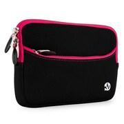 Vangoddy Neoprene Slim Tablet Sleeve Fits 7 Inch Tablet, Black Pink (RDYLEA673)