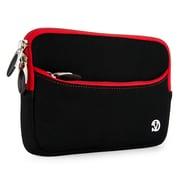 Vangoddy Neoprene Slim Tablet Sleeve Fits 7 Inch Tablet, Black Red (RDYLEA671)