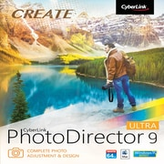 CyberLink PhotoDirector 9 Software Ultra for 1 User, Windows, Download (PTD-E900-RPU0-01)