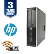 HP Elite 8300-8-128 HP Intel Core i7-3770 3.4Ghz 128GB SSD8GB DDR3 Memory with Windows 10, Refurbished