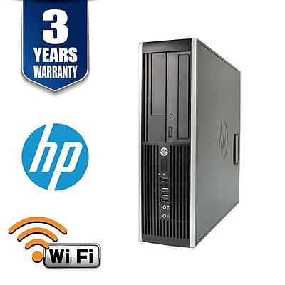 HP8300, Intel i7 3770 3.4Ghz, 12GB, 240GB SSD, WIFI, Win 10 Pro, Refurbished