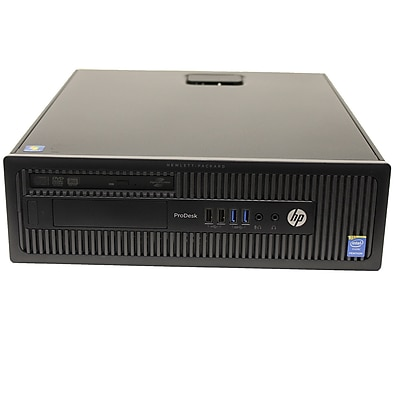 HP Intel Core i3-4130 3.4Ghz 8GB DDR3 Memory, 256GB SSD, and Windows 10, Refurbished