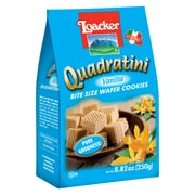 Loacker Quadratini Vanilla Wafer Cookies, 8.82 Oz., 8/CT