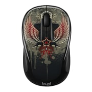 Logitech M325C Optical Wireless USB Mouse, Ambidextrous, Black Taboo (910-005337)