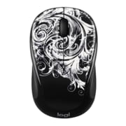 Logitech M325C Optical Wireless USB Mouse, Ambidextrous, Dark Fleur (910-005339)