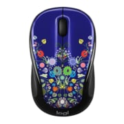 Logitech M325C Wireless Optical Mouse, Ambidextrous, Natural Jewelry (910-005343)