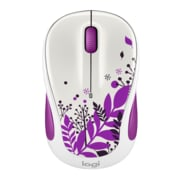Logitech M325C Wireless Optical Mouse, Ambidextrous, Purple Peace (910-005345)