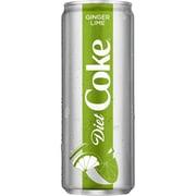 Coca-Cola Diet Coke-Ginger Lime 12 oz., 8/Pack (49000075106)