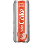 Diet Coke® Zesty Blood Orange 12 oz., 8/Pack (49000074895)