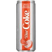 Coca-Cola Diet Coke Zesty Blood Orange 12 oz., 8/Pack (49000074895)