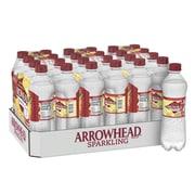 Arrowhead Brand Sparkling Mountain Spring Water, Pomegranate Lemonade Flavor, 16.9 oz. Plastic Bottle, 24/Pack (12349475)
