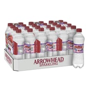 Arrowhead Brand Sparkling Mountain Spring Water, Triple Berry Flavor, 16.9 oz. Plastic Bottle, 24/Pack (12349480)