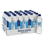 Deer Park Brand Sparkling Natural Spring Water, Simply Bubbles, 16.9 oz. Plastic Bottle, 24/Pack (12349500)