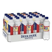 Deer Park Brand Sparkling Natural Spring Water, Pomegranate Lemonade Flavor, 16.9 oz. Plastic Bottle, 24/Pack (12349504)