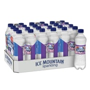 Ice Mountain Brand Sparkling Natural Spring Water, Triple Berry Flavor, 16.9 oz. Plastic Bottle, 24/Pack (12349527)