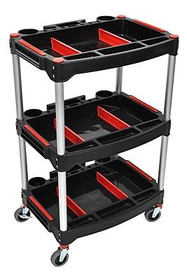Offex MC-3, Mechanics Three-Shelf Cart (OF-MC-3)
