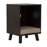 Offex Pet End Table, Espresso/Sand (OF-61003)