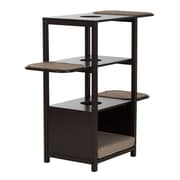 Offex Paws & Purrs Cat Tower, Espresso/Sand (OF-61005)