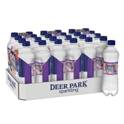 Deer Park Brand Sparkling Natural Spring Water, Triple Berry Flavor, 16.9 oz. Plastic Bottle, 24/Pack (12349503)