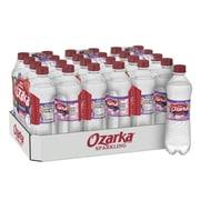Ozarka Brand Sparkling Natural Spring Water, Triple Berry Flavor, 16.9 oz. Plastic Bottle, 24/Pack (12349551)