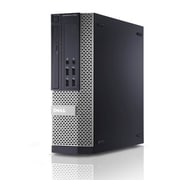 Dell 7010 Small Form Factor Intel Core i5 3470 3.2GHz 8GB RAM 120GB Solid State Drive DVD Windows 10 Pro, Refurbished