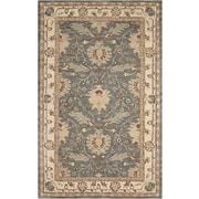 Nourison India House Wool Blue Area Rug
