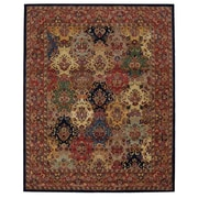 Nourison India House Wool Multicolor Area Rug