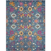 Nourison Passion Polypropylene Denim Area Rug