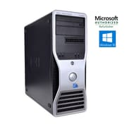 Dell Refurbished Precision T3500 Tower Intel Xeon W3565 3.2 GHz 12GB RAM 1TB Hard Drive + 120GB Solid State Drive Windows 10 Pro