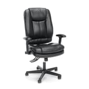 Essentials by OFM Ergonomic High-Back Bonded Leather Executive Chair, Black, (ESS-6050)