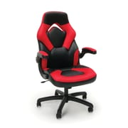 Essentials by OFM Racing Style Gaming Chair, Black/Red ESS-3085-RED