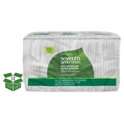 Seventh Generation® 100% Recycled Napkins, 1-Ply, White, 3000/Carton (SEV 13713)