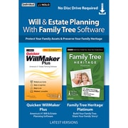 Individual Software Will & Estate Planning with Family Tree Bundle for 1 User, Windows, Download (WDB-WFB)