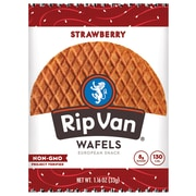 Rip Van Wafels Strawberry Flavored Snacks Pack of 12 (RVW00383)