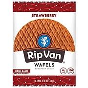 Rip Van Wafels Strawberry Flavored Snacks Pack of 12 (RVW00383)