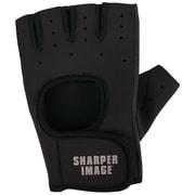 Sharper Image Fitness Gloves, L/XL, Black (SI-FG-180LXL-BLK)