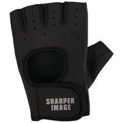 Sharper Image Fitness Gloves, Small, Black (SI-FG-180SM-BLK)