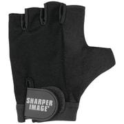 Sharper Image Deluxe Fitness Gloves, Small, Black (SI-FG-280SM-BLK)