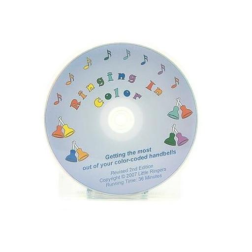 Little Ringers Ringing in Color DVD For 8 Note handbells
