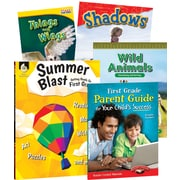 Teacher Created Materials Learn-at-Home: Summer STEM Bundle with Parent Guide, Grade 1  (51665SHELL)