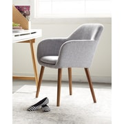 Elle Decor Roux Arm Chair, French Gray (CHRROUGRYL02)