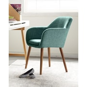 Elle Decor Roux Arm Chair, French Turquoise (CHRROUTRQL02)