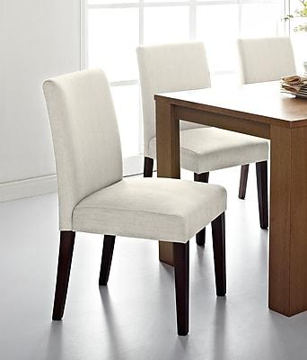 Serta Liam Dining Chair, Harbor Linen, Set of 2 (CHR20018D)