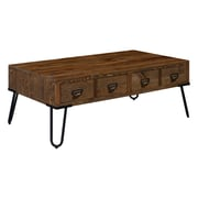 Serta Bryant Coffee Table with Storage, Aged Pine (FCTBRYPINR02)