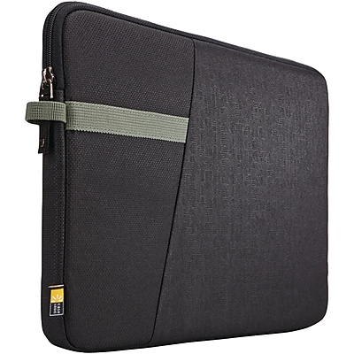 Case Logic Ibira Black Polyester Sleeve for 13.3