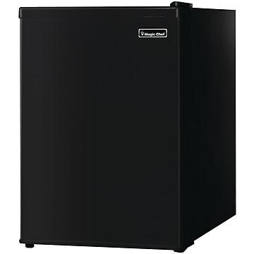 Magic Chef 2.4 Cu. Ft. Refrigerator, Black (MCBR240B1)