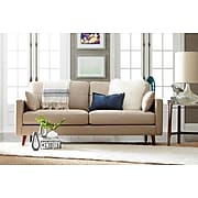 Elle Decor Alix Sofa, Chenille, French Taupe (UPH2001311)