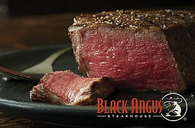 Black Angus Steakhouse Gift Card $25