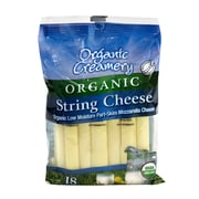 Organic Creamery Organic String Cheese, 1 oz, 18 Count (902-00074)